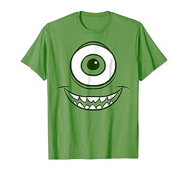 amazon com disney monsters inc mike wazowski halloween graphic t