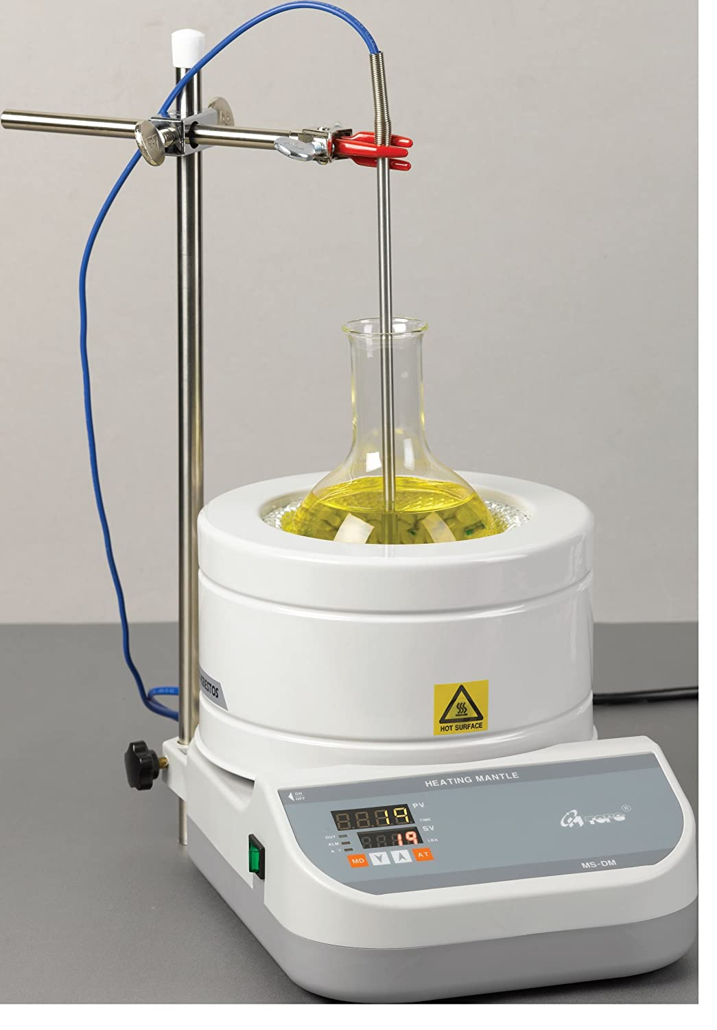Mtops DM604 PID Controlled Heating Mantle,110V, 1000ml, Round Bottom Flask