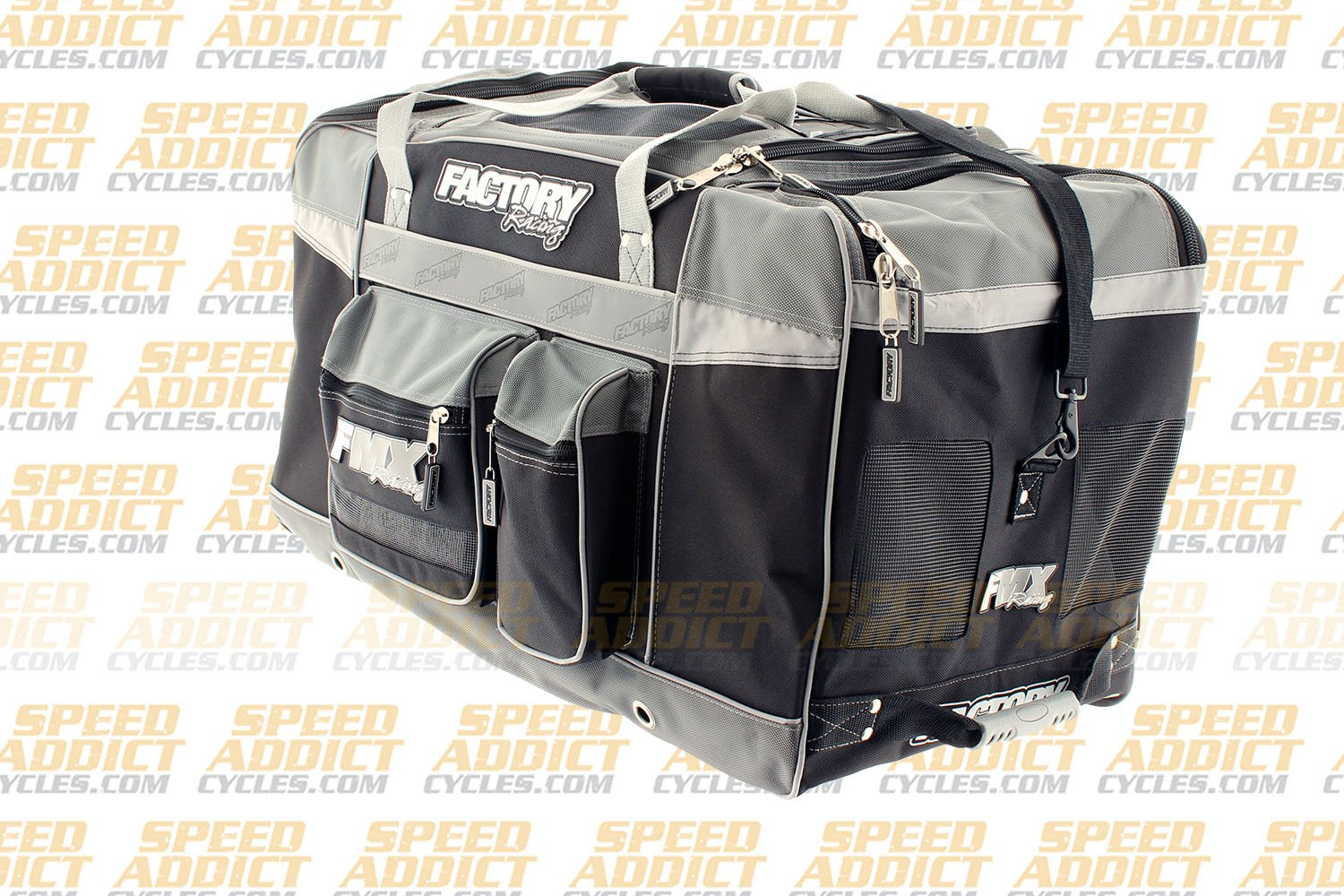 Factory FMX Motorcross Gear Bag XLarge Grey by Factory Racing (Image #4)