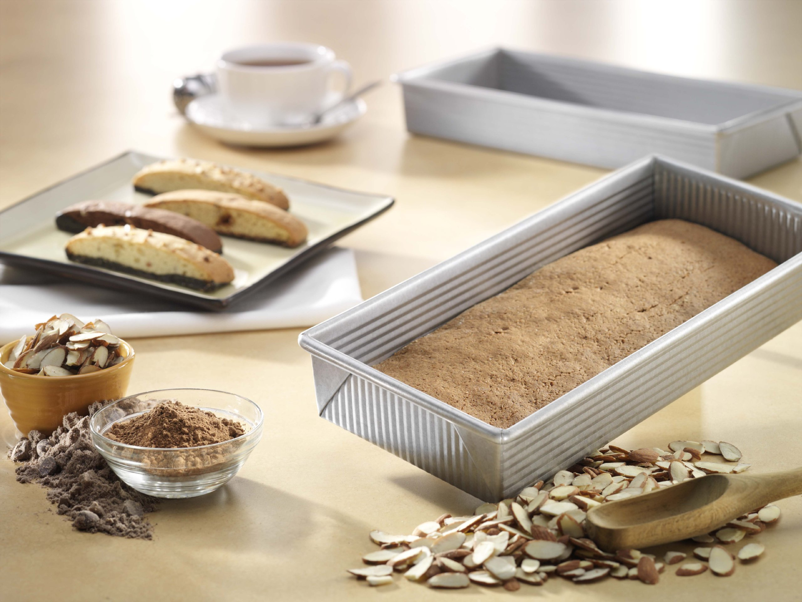 USA Pan Bakeware Aluminized Steel Biscotti Pan by USA Pan (Image #2)