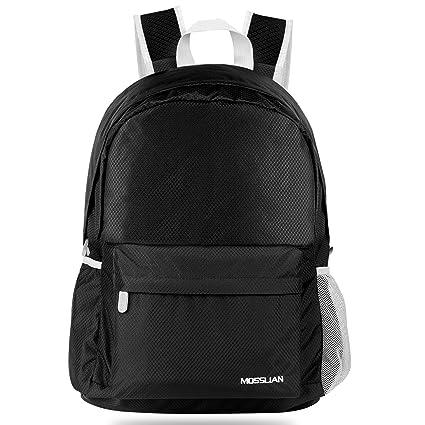 82ee8d94809c Amazon.com  Travel Backpack  MOSSLIAN Handy Ultra Lightweight ...