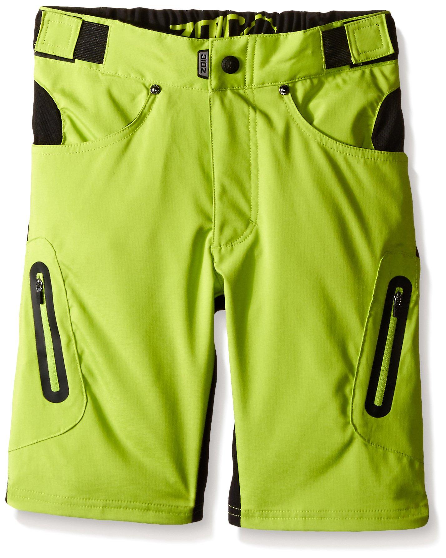 ZOIC Boy's Ether Jr. Shorts, Atomic, Large