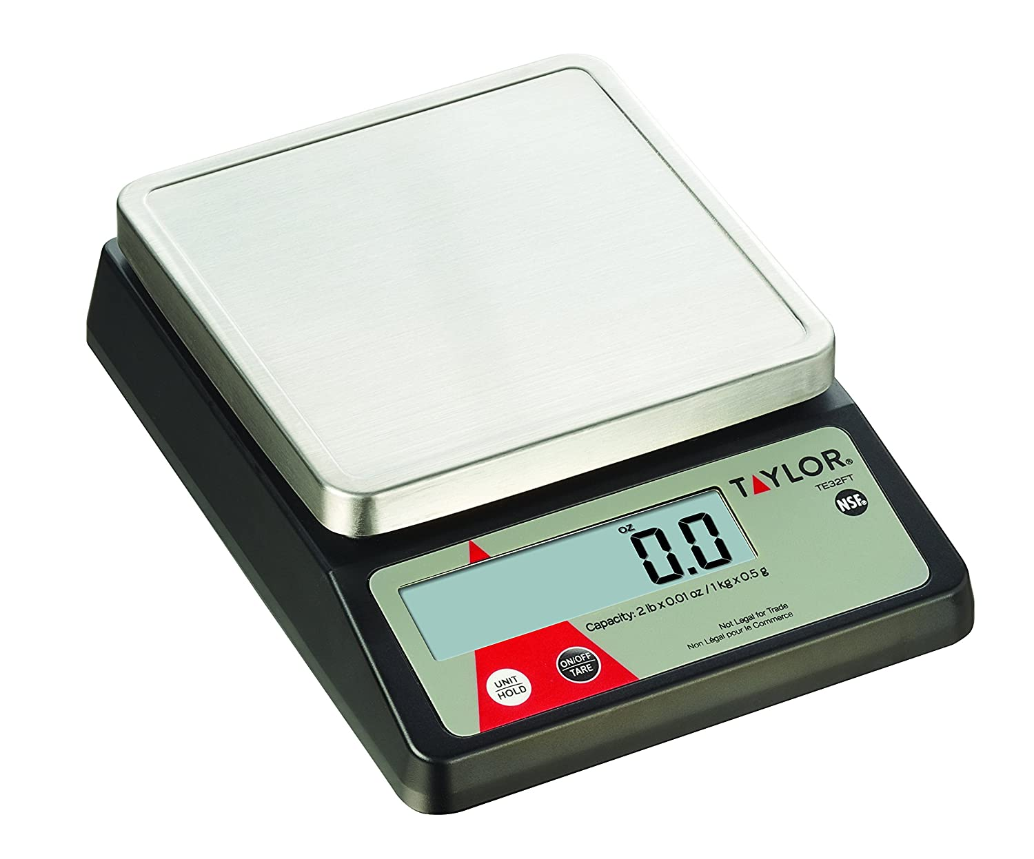 Taylor Precision Products Digital Portion Control Scale (2-Pound) (2-(Pack))