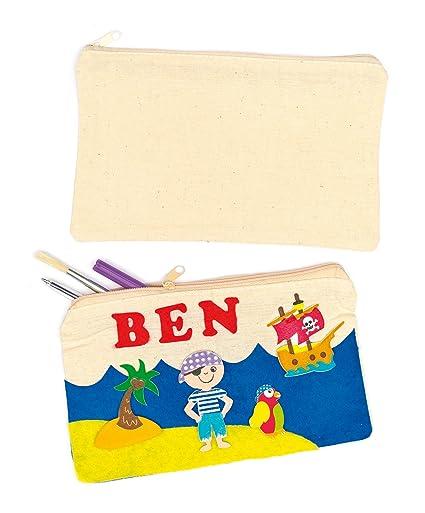 Baker Ross Estuches de Lápices de Tela para Pintar (Paquete ...