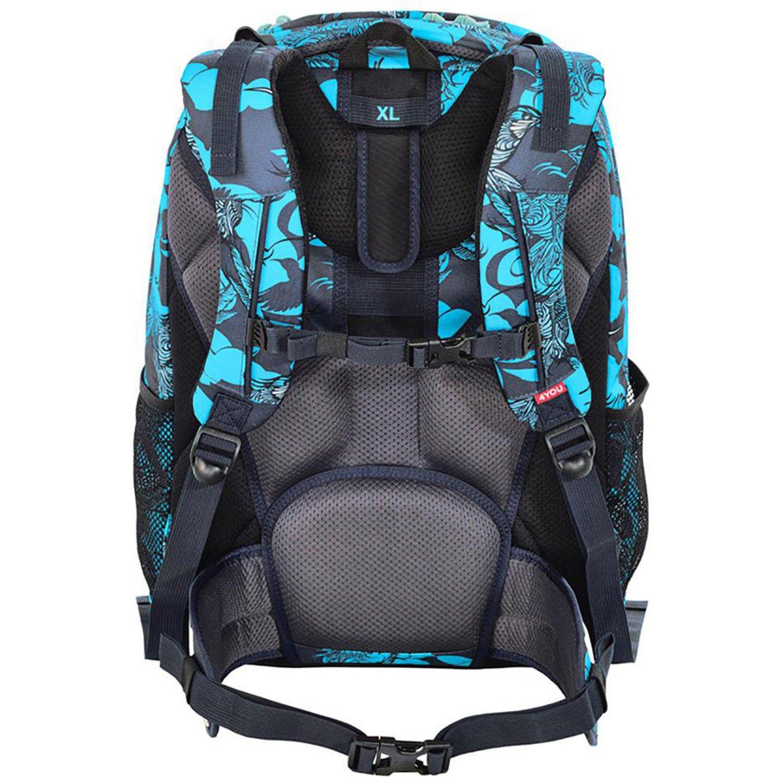 abd94c443 4YOU Flash Vol. 1 School Backpack Pekka 46 cm notebook compartment kolibri:  Amazon.co.uk: Office Products