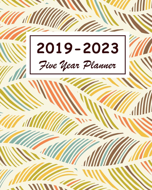 2019-2023 Five Year Planner: 60 Months Calendar, Schedule ...