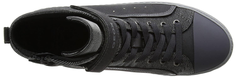 Geox Unisex-Erwachsene J Kalispera Girl I I Girl Hohe Sneaker, Grau (Dk Grau) 2aa4d0