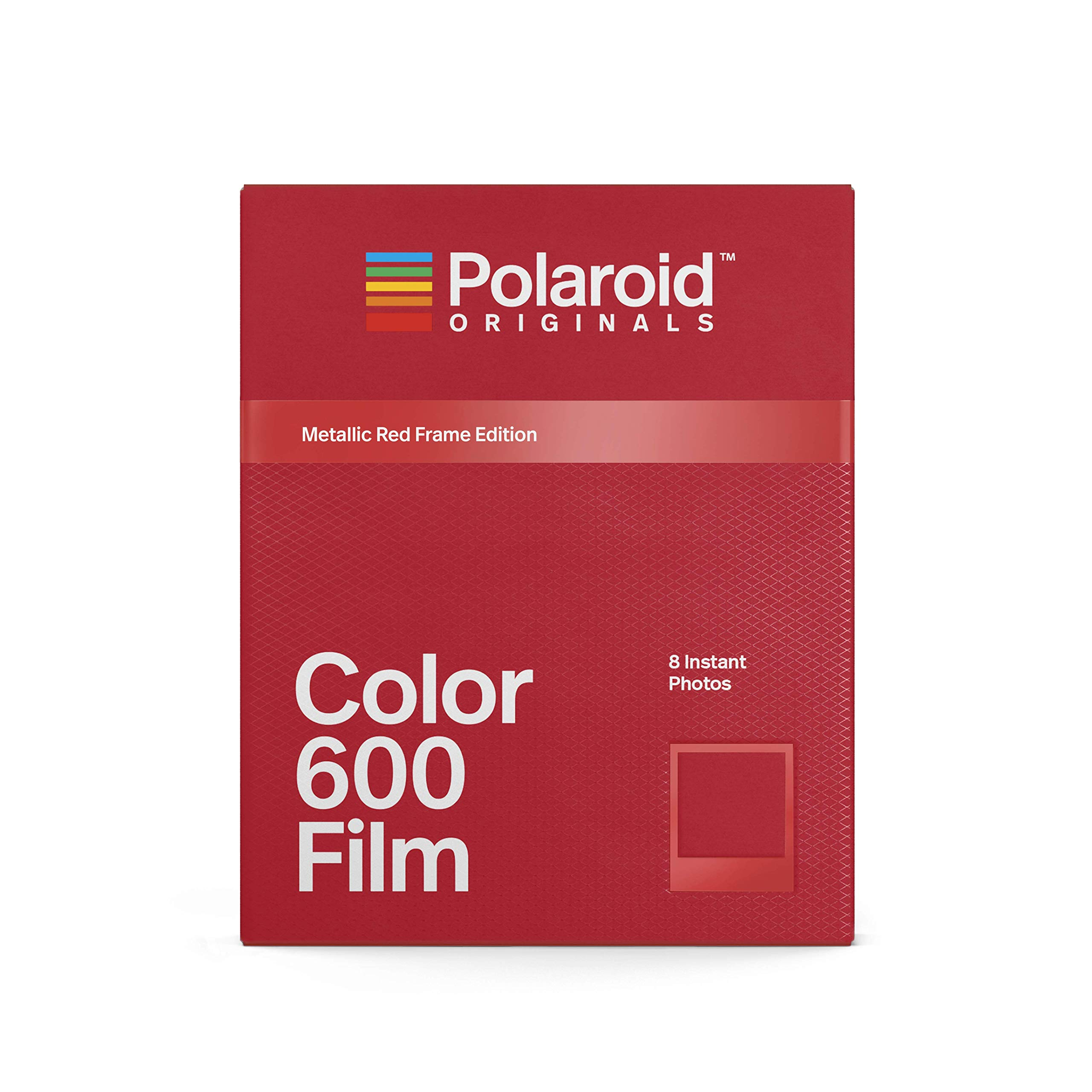 Polaroid Originals Limited Edition Color Film for 600 - Metallic Red Frame Edition (4858)