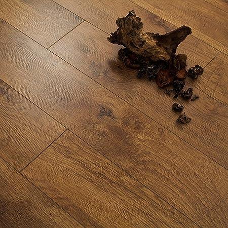 Series Woods 10mm Harvest Oak V Groove Laminate Flooring 1320m2