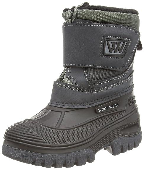 Woof Wear Short - Botas para mujer, color negro/negro, talla Size 3