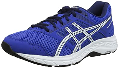 new product 75e09 69325 ASICS Gel-Contend 5, Chaussures de Running Homme, Bleu (Imperial White