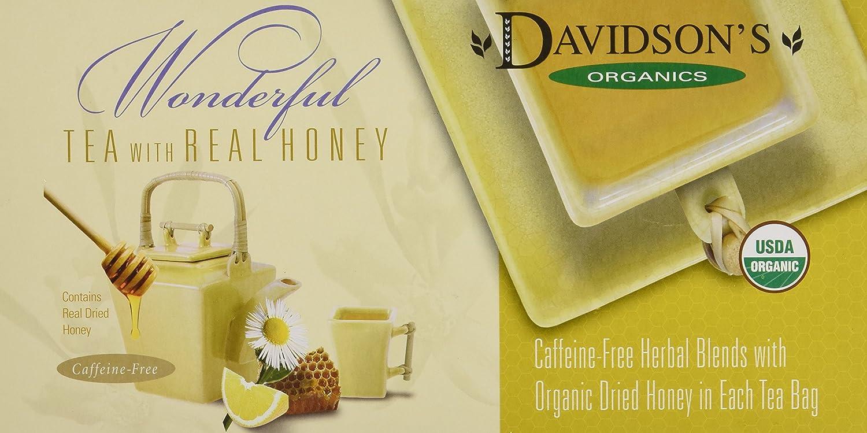 Davidson's Tea Single Serve Bing Cherry with Almond, 100-Count Tea Bags