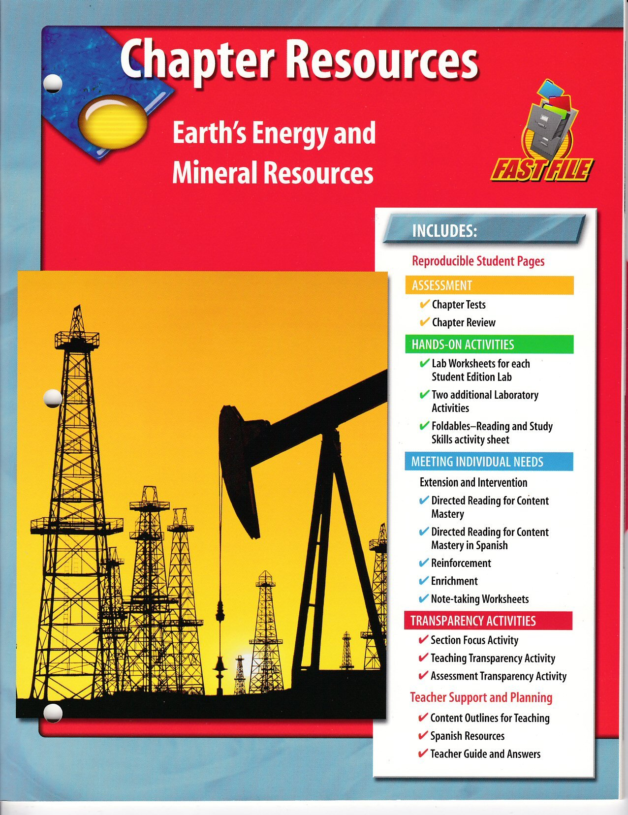 Chapter Resources Earth's Energy and Mineral Resources: Amazon.com ...