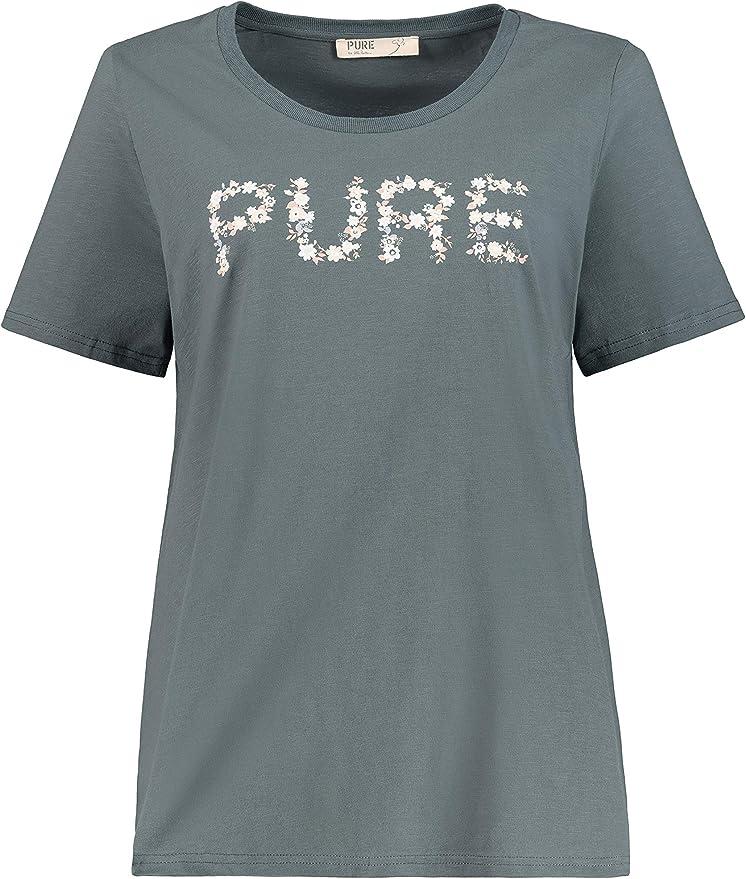 Ulla Popken 724343 - Camiseta de manga corta para mujer (talla ...