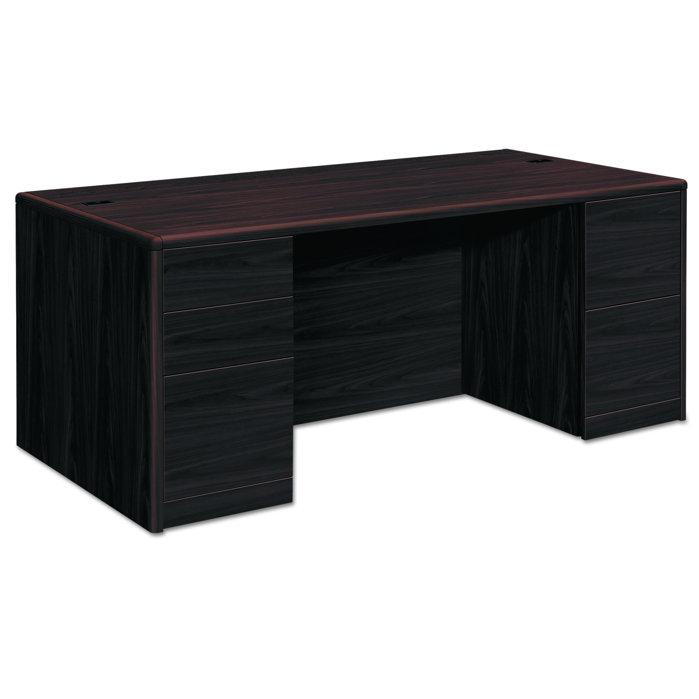 HON 10799NN 10700 Double Pedestal Desk with Full Pedestals, 72w x 36d x 29 1/2h, Mahogany by HON (Image #2)