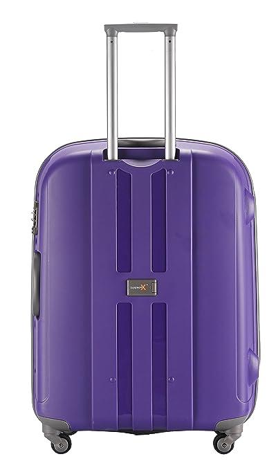 Equipaje X - Juego de 2 Duro Cara púrpura Trolley Maletas 30