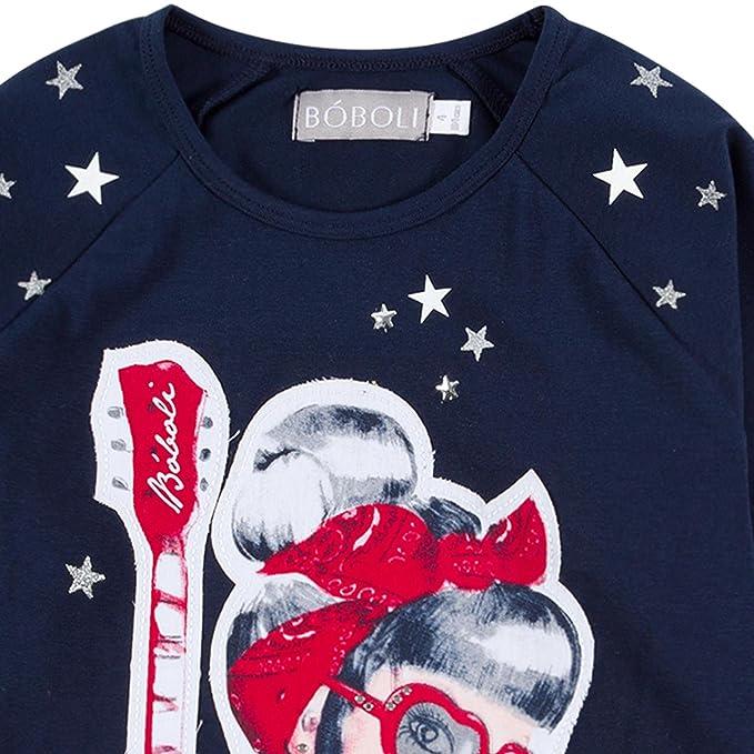Camiseta Punto El/ástico para ni/ñas boboli 432144
