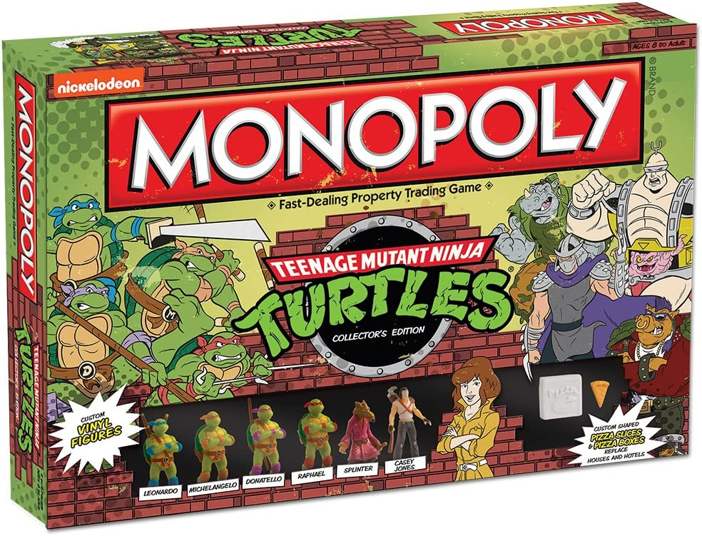 Monopoly: Teenage Mutant Ninja Turtles Collectors Edition Game