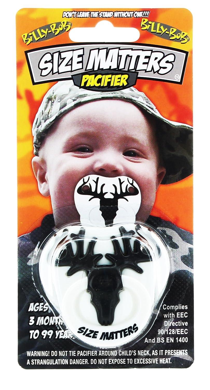 Billy Bob 90047 Dientes El tama-o importa Pacifier: Amazon.es: Ropa ...