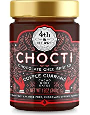 4th & Heart Gluten Free Chocti Chocolate Ghee Spread Coffee Guarana, 340g