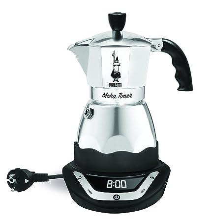 Noirgris 6 Timer Cafetière Easy 6093 Tasses En Inox Bialetti Italienne Electrique 3jLqA54R