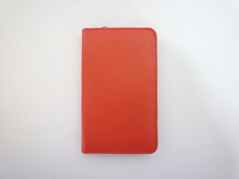edle, ROTE Kunstleder-Schutztasche für grafikfähige Taschenrechner Taschenrechner.de