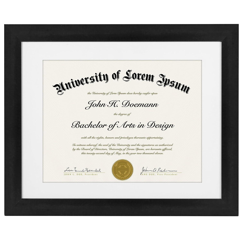 Document Frame Graduation Diploma Ebay