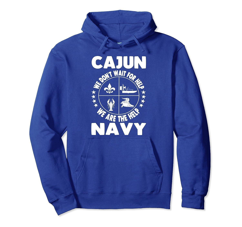 HOODIE Cajun Navy Disaster Relief Support Volunteer Gift-ln