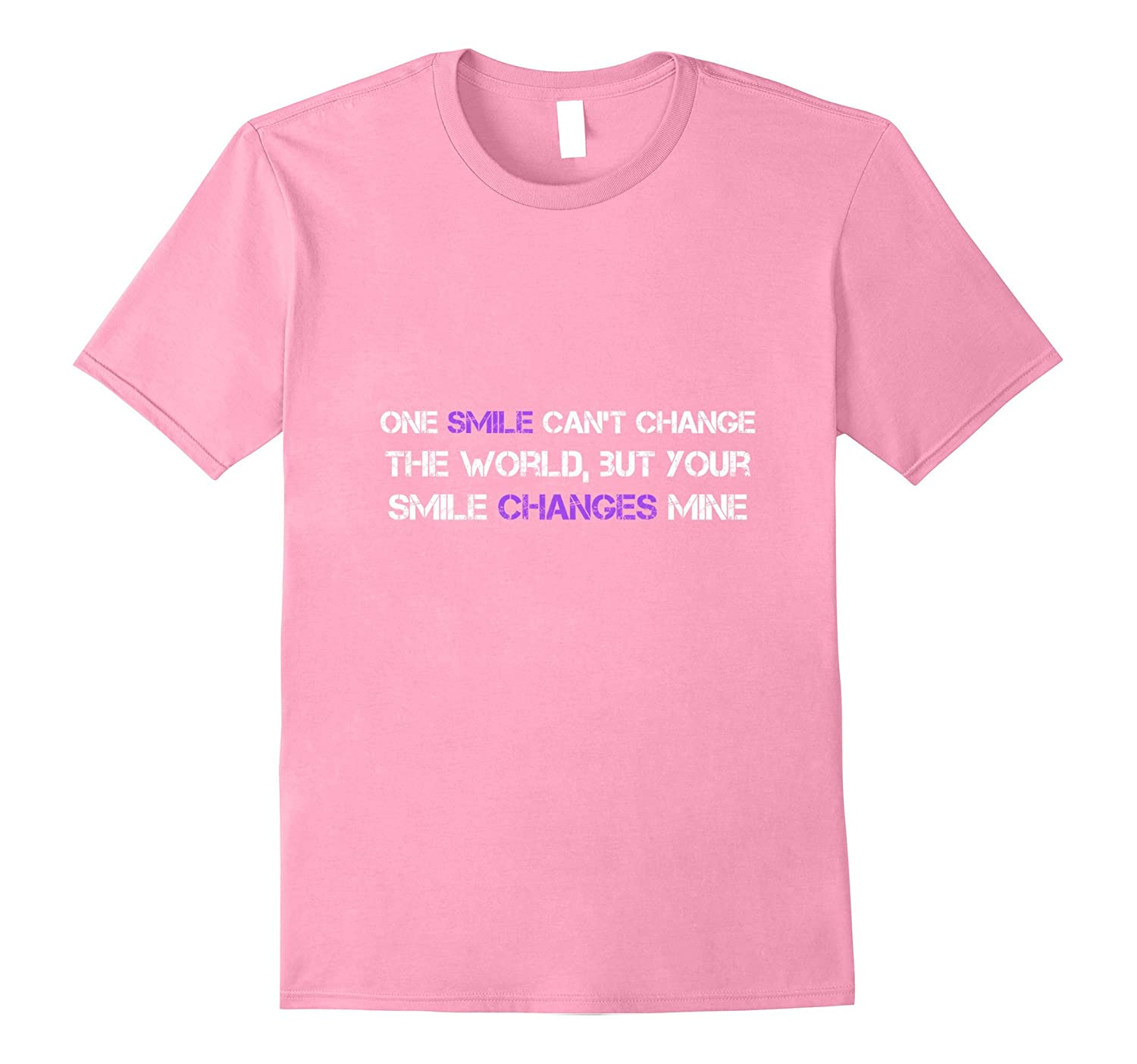Your smile changes my world T-shirt-Vaci