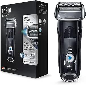 Braun Series 7 7840 s - Afeitadora eléctrica para hombre de lámina, en húmedo y seco, máquina de afeitar barba ...