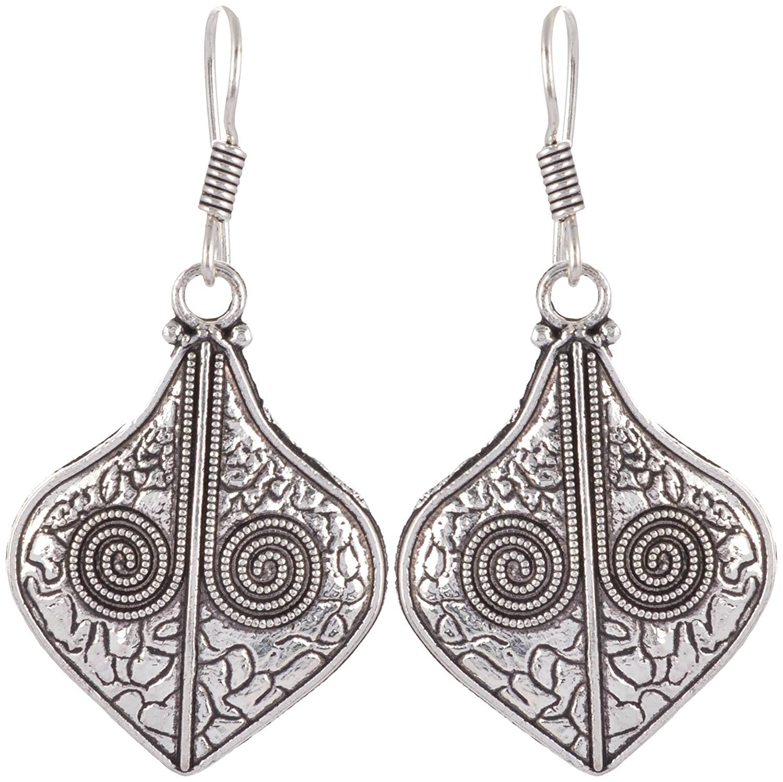 Subharpit Designer Dashing Beauty Metal Indian Dangle Earring for Woman /& Girls