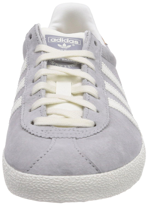 Adidas Originals Gazelle OG - Zapatos para Mujer, Gris (Mgh Solid Grey/Off White/Gold Met.), 44