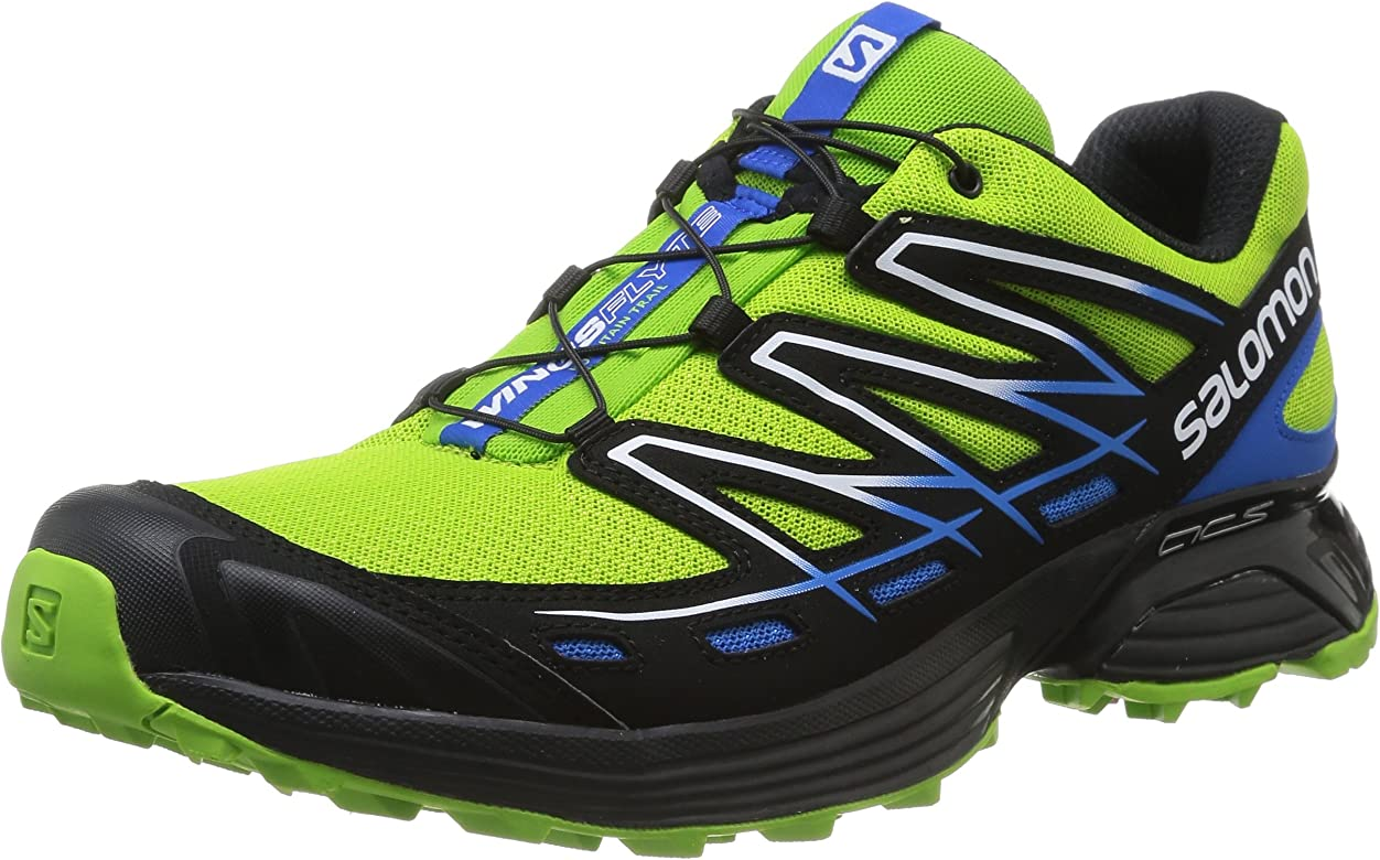 Salomon Wings Flyte - Zapatillas trail running para hombre - verde ...