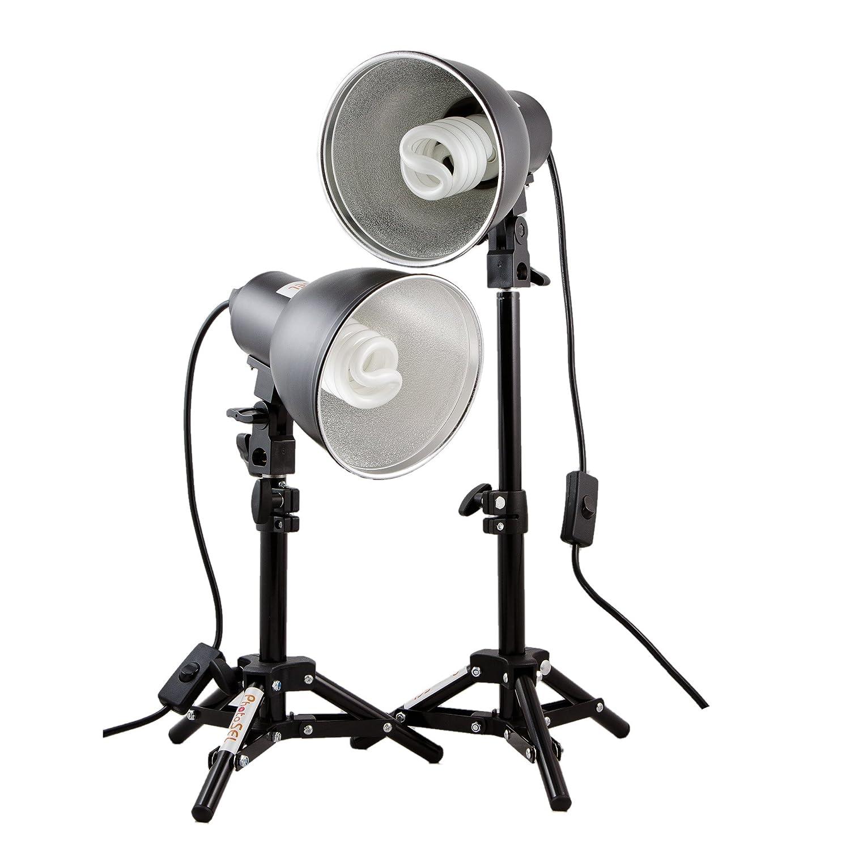 PhotoSEL LS11E22 26-40cm Tabletop Studio Lighting Kit