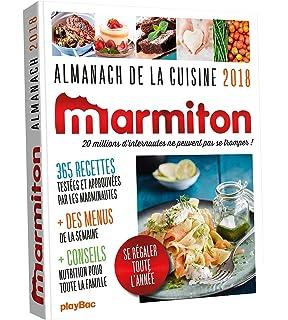 Amazon Fr Almanach 2019 Marmiton Marmiton Livres