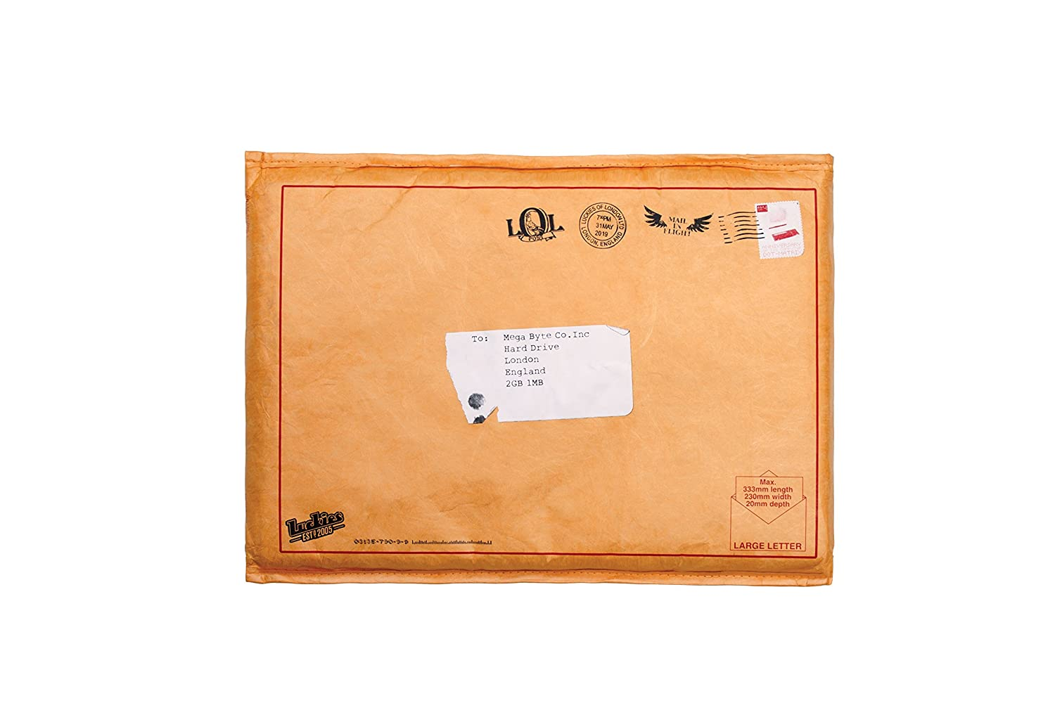 Luckies of London Undercover 13 Secret Protective Laptop Sleeve
