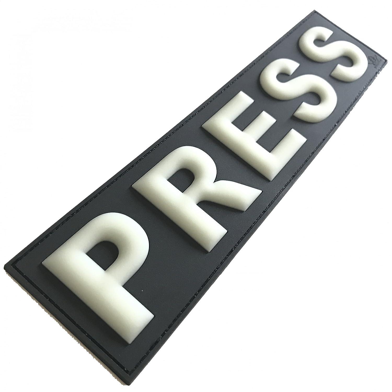 2/x Press Presse Patch 29/* 7/cm Glow in Dark nachle utend Set PVC 3D