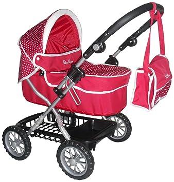 Amazon.es: Silver Cross 1422974 - Carrito para bebé de juguete, color rosa: Juguetes y juegos