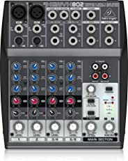 Premium 8-Input 2-Bus Mixer with XENYX Mic Preamps and British EQs