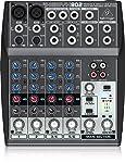 Behringer Xenyx 802 - Mezclador de 2 camión de 8 entradas con preamplificadores de micrófono XENYX y ecualizadores...