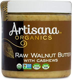 product image for Artisana Organics Raw Walnut Butter with Cashews, 9oz | No Sugar Added, Just Two Ingredients | Vegan, Paleo, and Keto Friendly