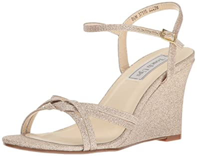 503be3915810 Touch Ups Women s Buffy Wedge Sandal Champagne 5 ...