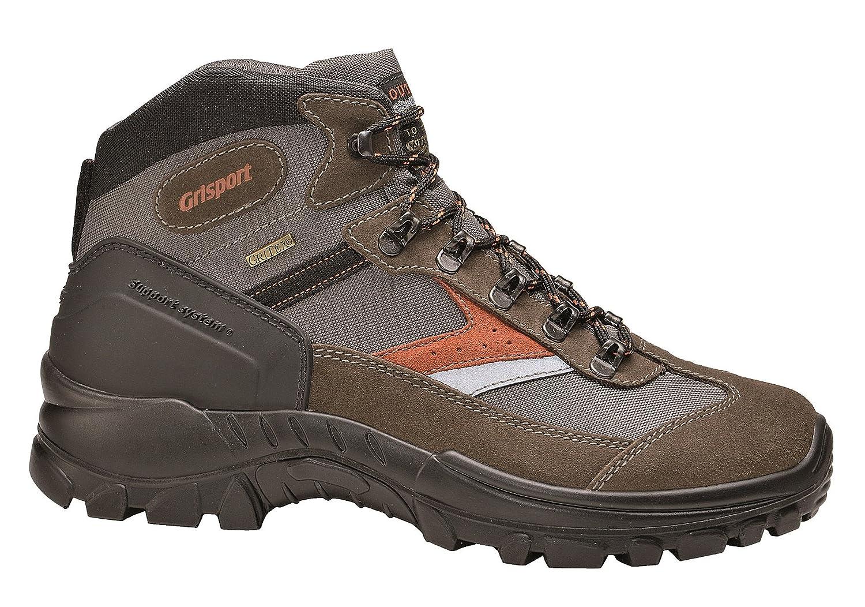 Grisport Unisex Schuhe Herren und Damen Trekking Mid Trekking- und Wanderstiefel, Atmungsaktive Gritex-Membran-Konstruktion