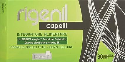 Benefit Rigenil Integratore Alimentare per Capelli Capelli - 30 Compresse 5f5ab4aa47b2