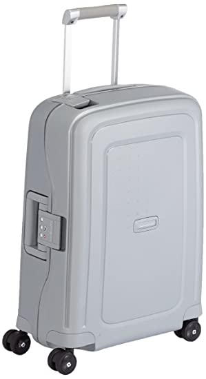 Valise cabine Samsonite S'Cure 55 cm Silver gris SroVaz6cs5