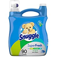Deals on Snuggle Plus Super Fresh Liquid Fabric Softener 95-Oz
