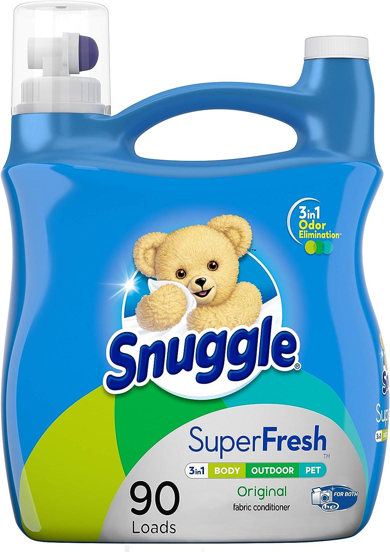 Snuggle 95 Oz SuperCare Liquid Fabric Softener $7.99 Coupon