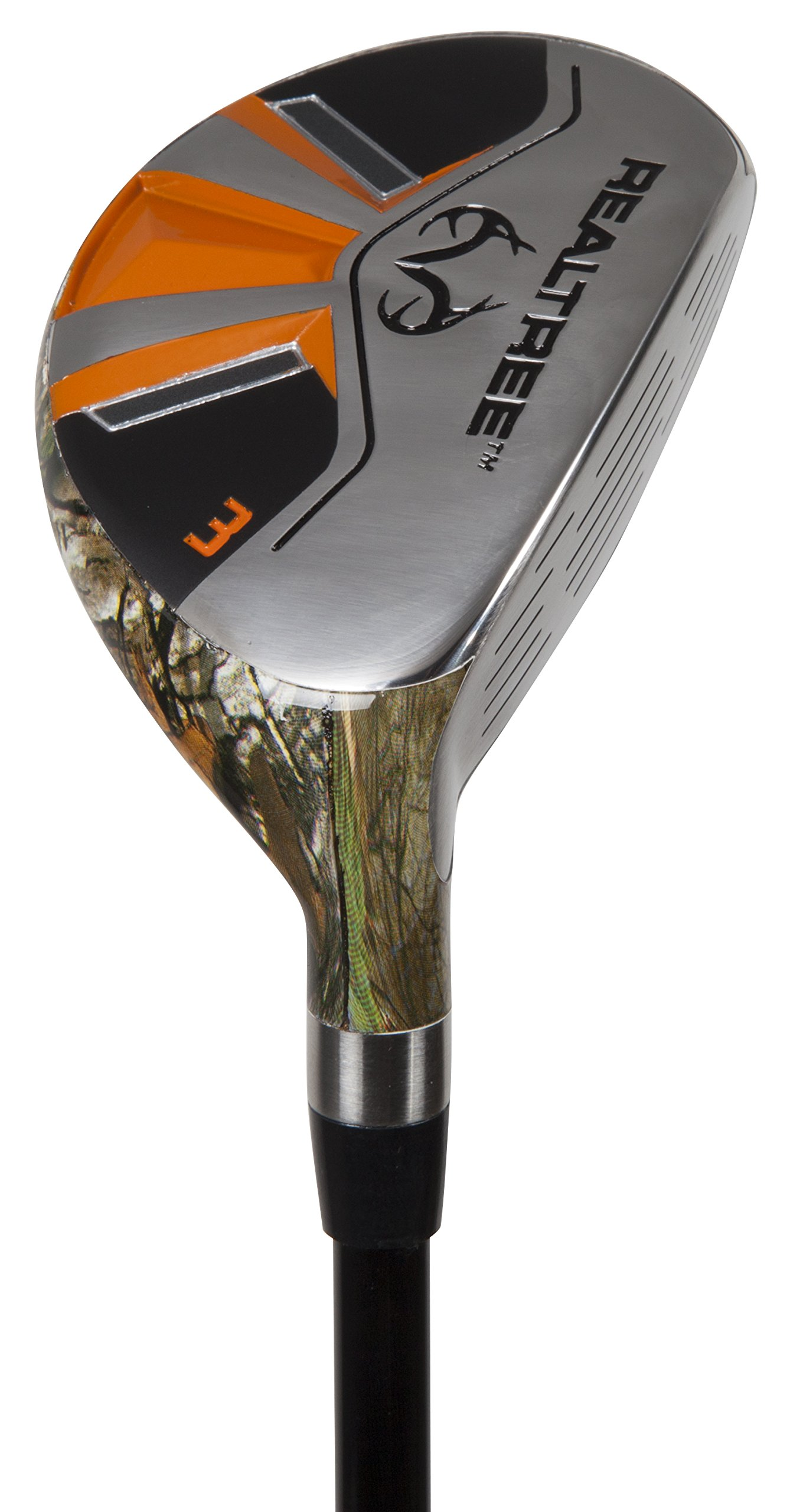 Pinemeadow Golf Men's Realtree Xtra Hybrid Club, Graphite, 19-Degree, 3, Regular, Right Hand