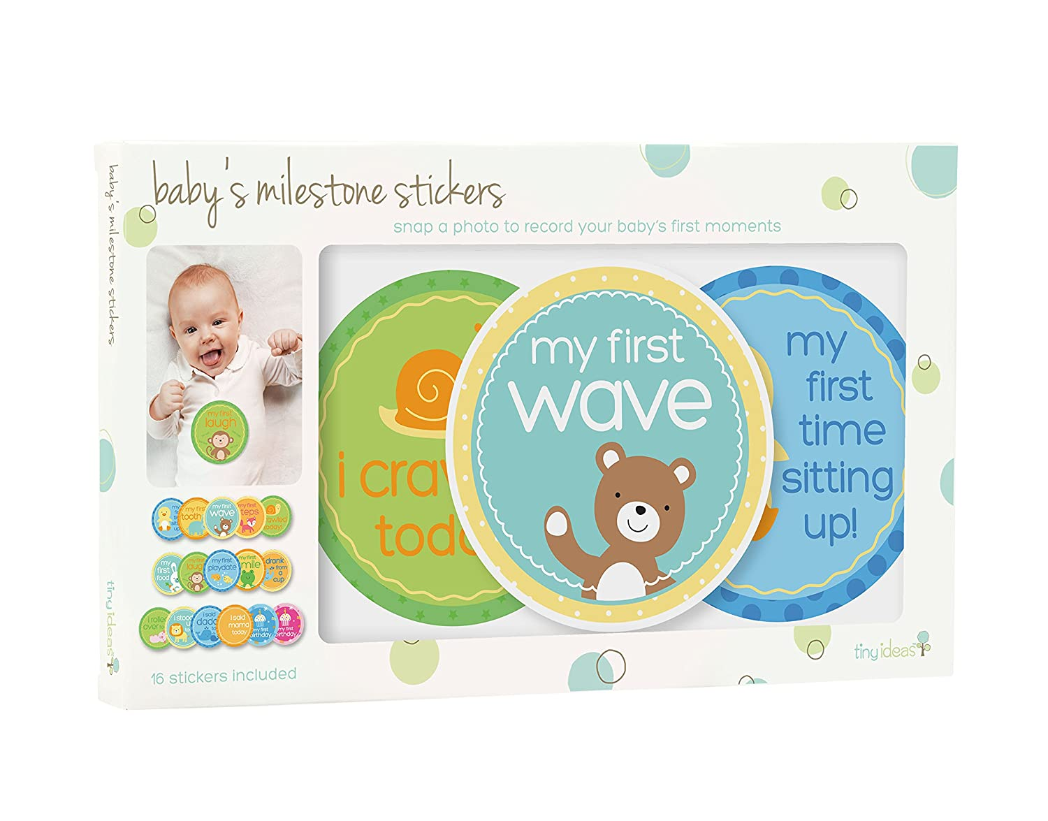 Baby Photo Cards Newborn Photo RROVE 12 Sheet Milestone Photo Sharing Cards Gift Set Baby Age Cards Baby Milestone Cards