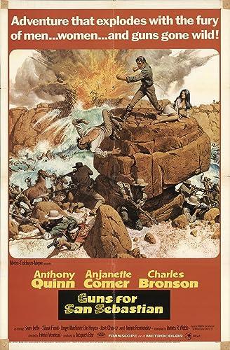 Amazon.com: Guns for San Sebastian 1968 Authentic 27